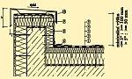 Detail nízké atiky, zdroj: ISOVER