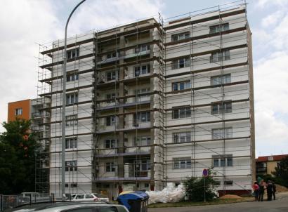 Ilustrační foto, zateplování panelového bytového domu, zdroj HPI