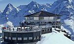 Prefa, Schilthorn (CH), 2 971 m n.m., PREFA Falcovaná taška, antracit