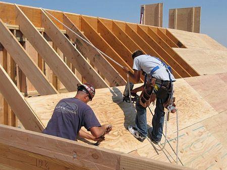 Ilustrační foto, záchytné systémy na šikmé střechy, zdroj: internet