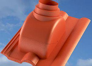 Prostupová tvarovka s adaptérem pro odkouření turbokotle, zdroj: BETONPRES