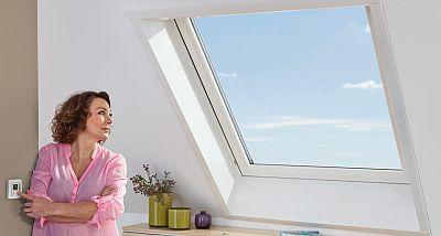 Ovládání střešního okna Designo RotoComfort i8, zdroj ROTO