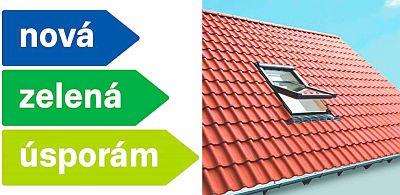 Střešní okna ROTO v Zelené úsporám, zdroj: ROTO
