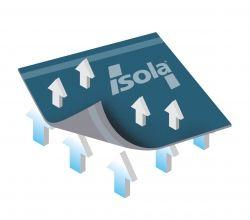 Hydroizolační fólie Isola TOP4 Xtra, zdroj: ISOLA