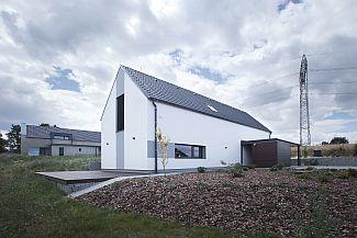 Pasivní vzorový dům Chelčice (CB Building s.r.o.), foto Markéta Černá, zdroj: KM Beta