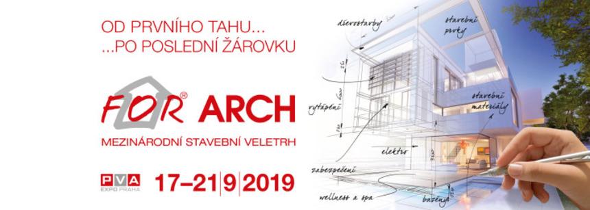 Mezinárodní stavební veletrh For Arch Letňany