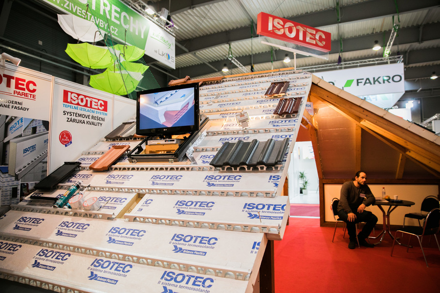 Izolační systém Isotec na veletrhu Střechy Praha