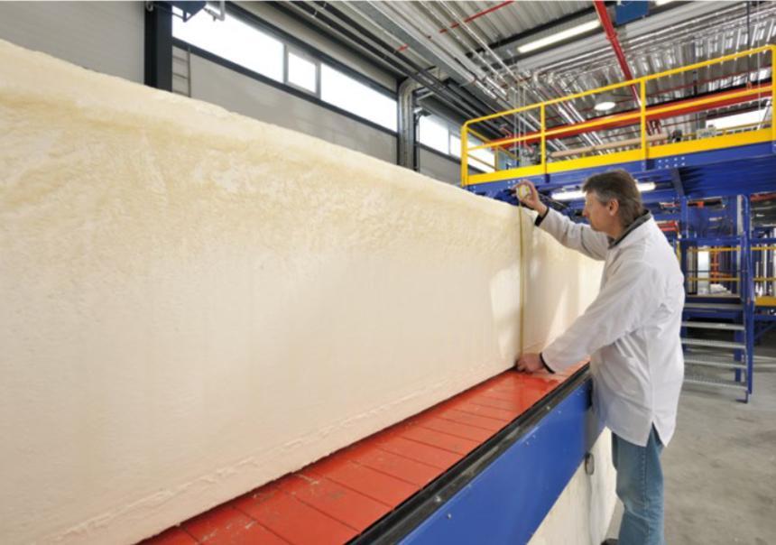 Izolační pěna ve výrobě