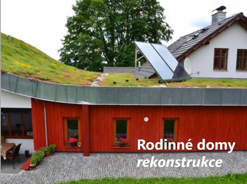 dotační projekt pro rodinné domy a rekonstrukce