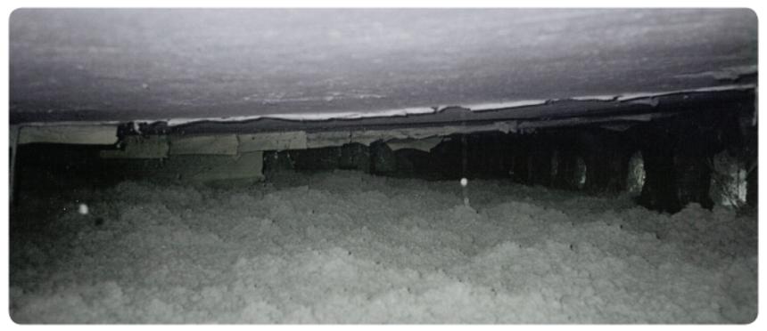 Foukaná izolace ve střeše