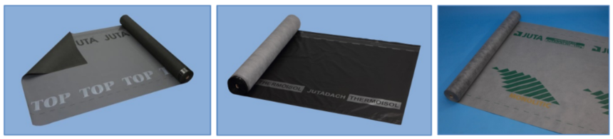 Příklady podstřešních membrán JUTA