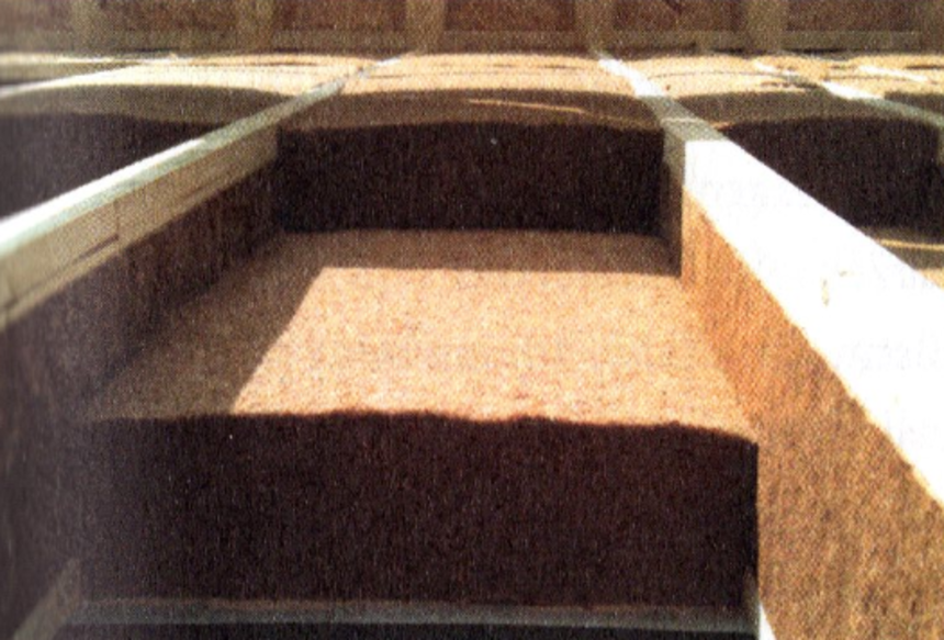Foukaná dřevní vlákna