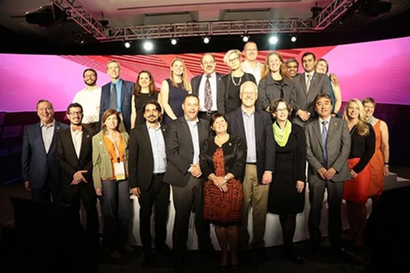 Společné foto Greenbuild Leadership Award za rok 2019