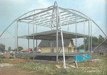 Konstrukce upravená pro pasivní stavbu, zdroj: Grada