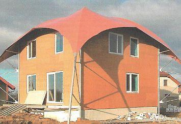 Povrch hrubé stavby z dřevovláknité desky, zdroj: Grada