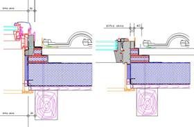 Zateplovací rám ke střešnímu oknu Roto, Fakro a Fenestra, zdroj: PUREN