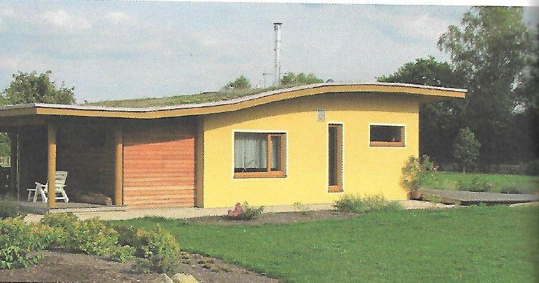 Západní profil zvlněné střechy