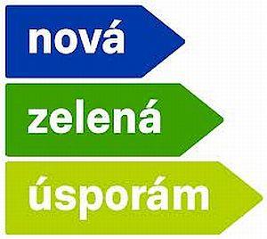 Logo dotačního programu Nová zelená úsporám NZÚ