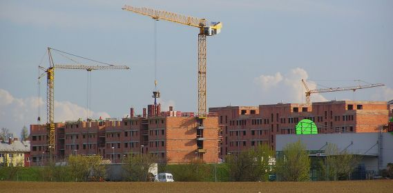 Výstavba, ilustrační foto