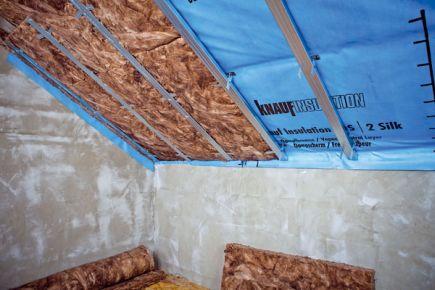 Knauf insulation, vzduchotěsnost, ilustrační foto