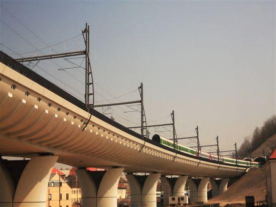ilustrační foto, železniční trať