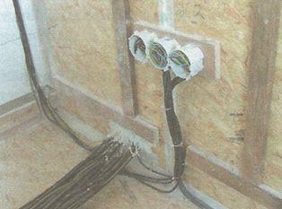 Grada, Obtížně utěsnitelný prostup kabelového svazku skrz obvodovou stěnu