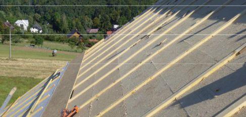 Střecha roubenky s deskami Pavatex shora na krokvích, foto a realizace: Arexstav s.r.o.