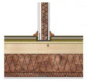 Knauf, založení příčky na stropní konstrukci