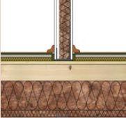 Knauf, Založení příčky na konstrukci stropu
