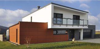 Plochá střecha u nízkoenergetických a pasivních domů, ilustrační foto