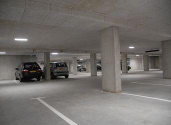Ilustrační foto, Heraklith - podzemní garáže