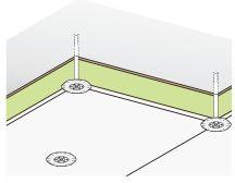 Heraklith, dodatečná izolace stropu, přímé upevnění na strop v jedné vrstvě