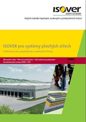 Isover, pro systémy plochých střech, brožura