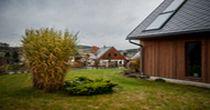 Foto ČTK, nízkoenergetické domy v Koberovech na Jablonecku