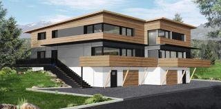 Nízkoenergetický dům, projekt, ilustrační foto