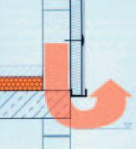 AZ Flex, únik tepla v místě tepelného mostu