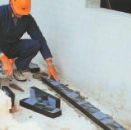 AZ Flex, Foamglas Perinsul - technologie montáže