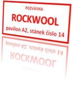 pozvánka ROCKWOOL