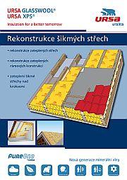 Ursa, brožura Rekonstrukce šikmých střech