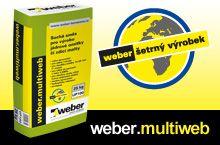 Weber, univerzální stavební polotovar weber.multiweb