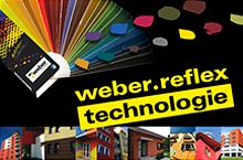 Weber Reflex, nové tmavé odstíny zateplovacích systémů