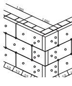 Knauf Insulation, zateplení fasády, otvory a rohy