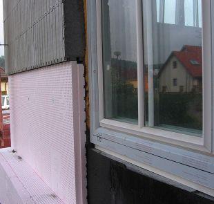 Ilustrační foto, zateplení stavby