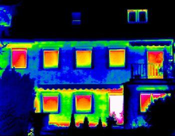 Únik tepla starými okny