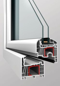 Jednoduché okno zasklené dvojsklem