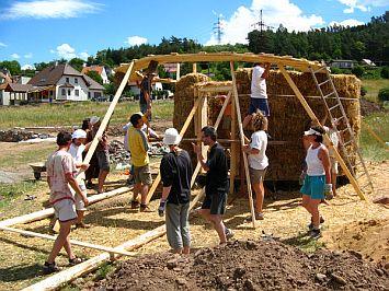 Zahradní domek Hradčany u Tišnova - foto Aleš Brotánek