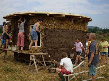 Zahradní domek Hradčany u Tišnova - foto Petr Klika