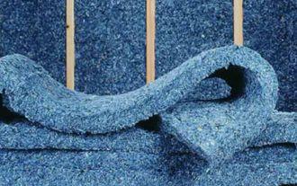 Denim recyklovaný, zdroj: Publikace Stavební tepelné izolace