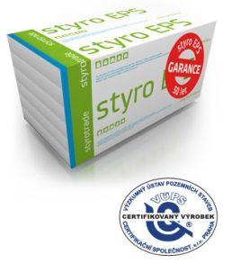 Styro EPS, garance 50 let, zdroj Styrotrade