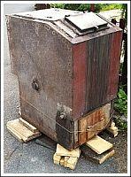Starý kotel, ilustrační foto, zdroj: internet